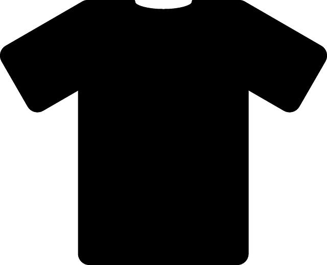 Free vector graphic: Tee, Shirt, Black, Fashion, Design