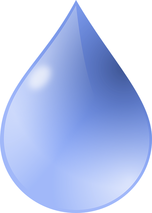 drop water blue free vector graphic on pixabay rh pixabay com raindrop vector diagram free vector raindrop