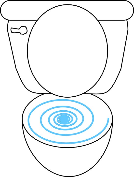 Toilet Open Bowl Free Vector Graphic On Pixabay