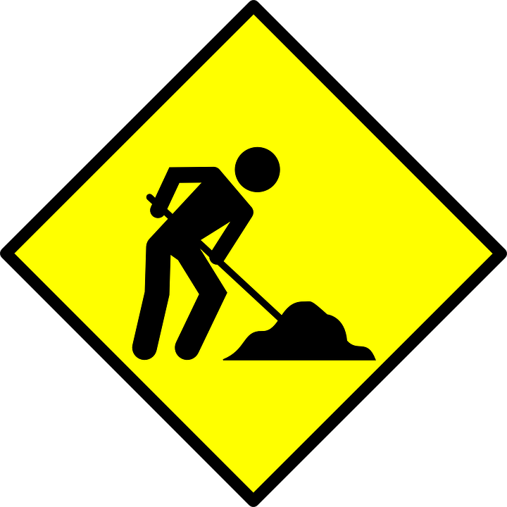 sign road under  u00b7 free vector graphic on pixabay