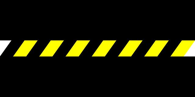 border warning hazard  u00b7 free vector graphic on pixabay Baby Zebra Clip Art Baby Zebra Clip Art