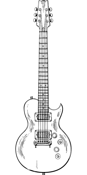 Free Vector Graphic Electric Guitar Instrument