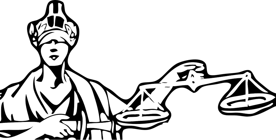 Escalas La Justicia Ciego Gráficos Vectoriales Gratis En Pixabay