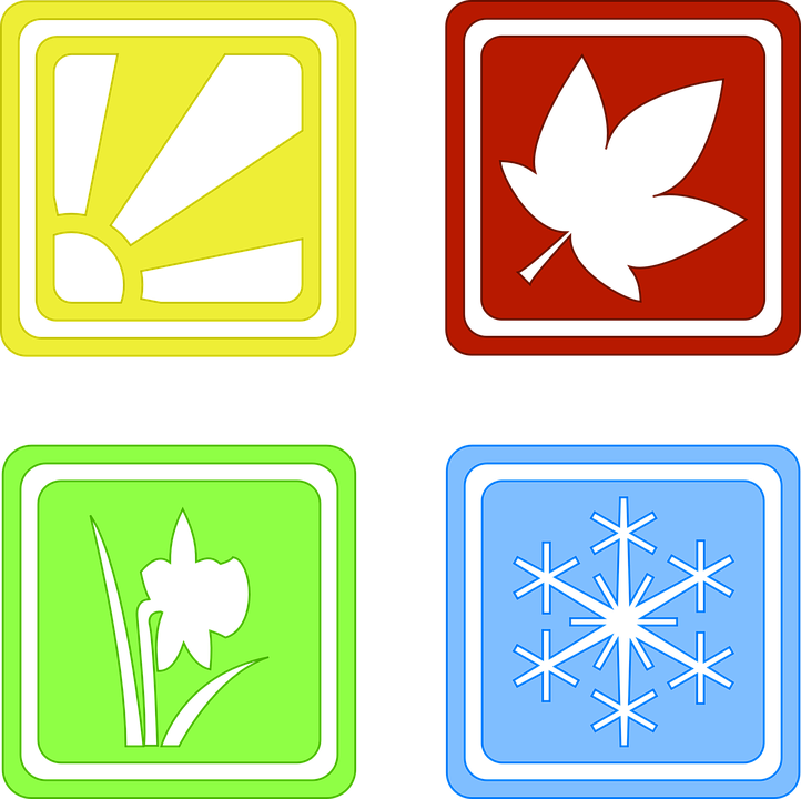 Seasons Four Symbols Free Vector Graphic On Pixabay