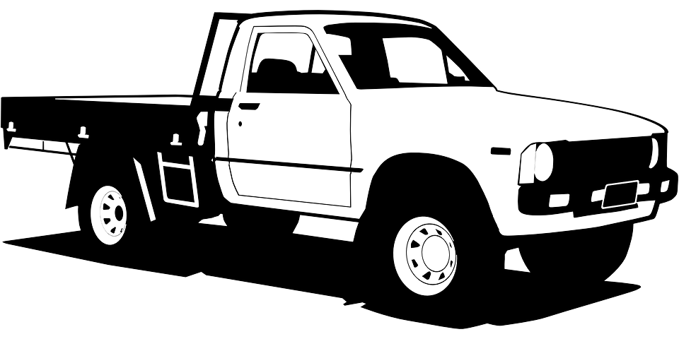 Free Vector Graphic Pickup Truck Van Transportation