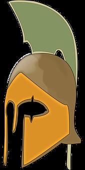 Helmet Knight Roman Medieval Warrior Armor