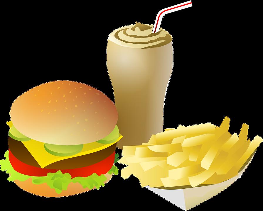 великолепный рисунок вредная еда менее опасен