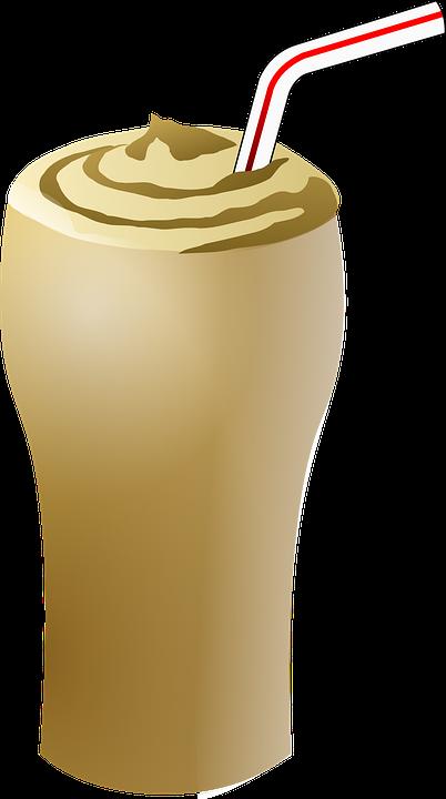 Free vector graphic: Milkshake, Brown, Chocolate, Straw ...