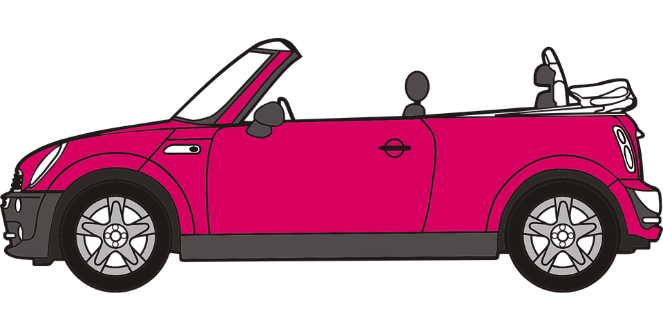 Car Pink Vehicle 183 Free Vector Graphic On Pixabay