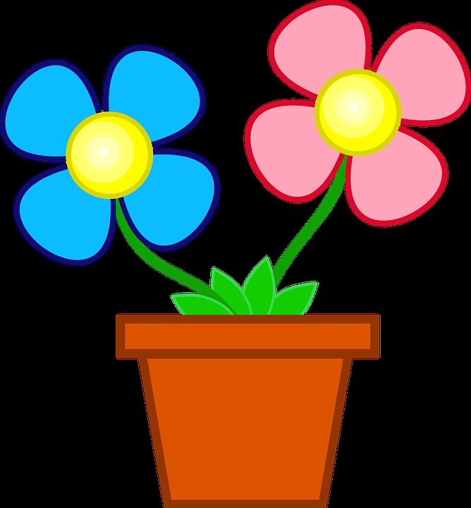 Bloemen Pot Bloempot - Gratis vectorafbeelding op Pixabay