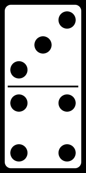 Domino Dominosteine Spiel Kostenlose Vektorgrafik Auf Pixabay