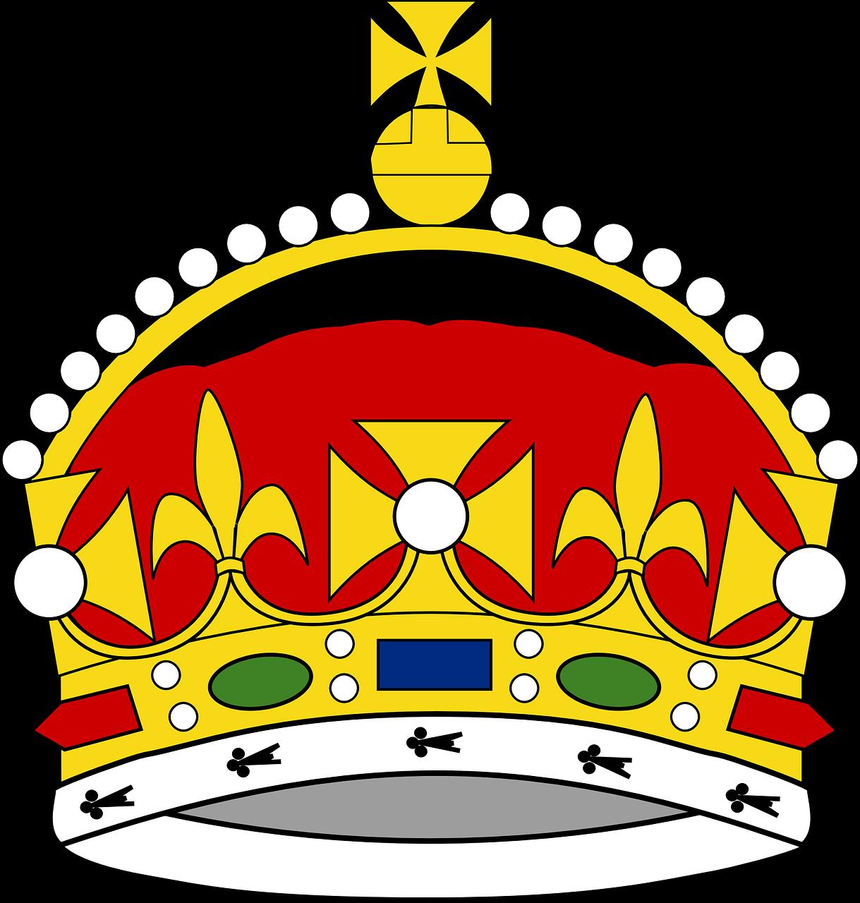 Crown George Prince Free Vector Graphic On Pixabay Kami juga punya banyak game lain yang mirip crown jewels! https creativecommons org licenses publicdomain