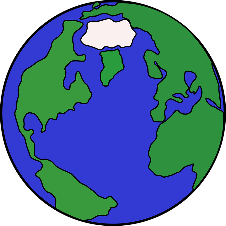 Planet earth world free vector graphic on pixabay planet earth world map globe icon symbol sphere gumiabroncs Gallery