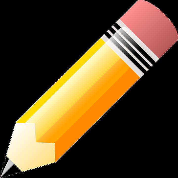 Vector gratis: Lápiz, Amarillo, Agudo, Colorido - Imagen gratis en ...