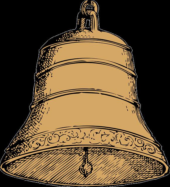 Рисованный колокол