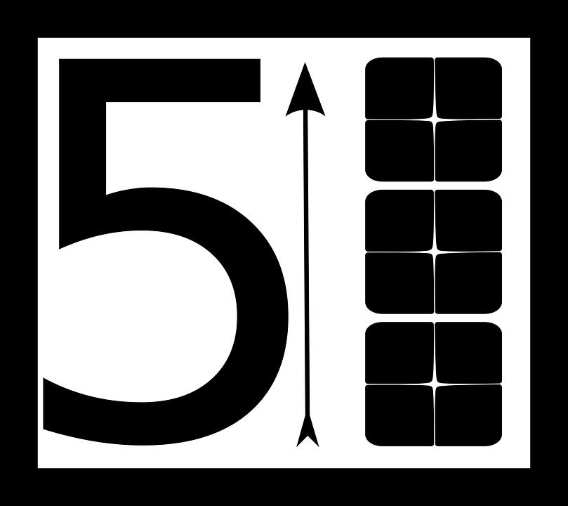 Free Vector Graphic  Arrow  Block  Number  Digit