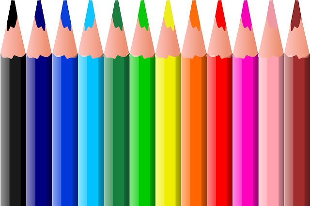 Color Pencils Pencil Coloured · Free Vector Graphic On