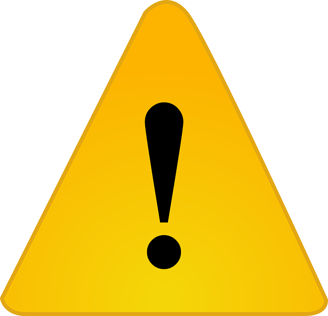 warning exclamation caution 183 free vector graphic on pixabay