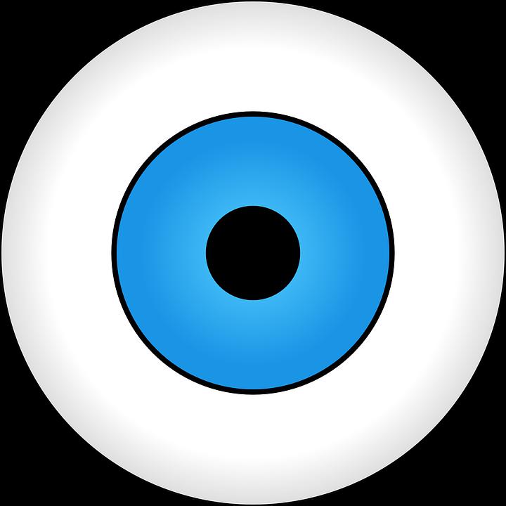 eye eyeball vision free vector graphic on pixabay rh pixabay com vector eyeball inkscape cartoon eyeball vector