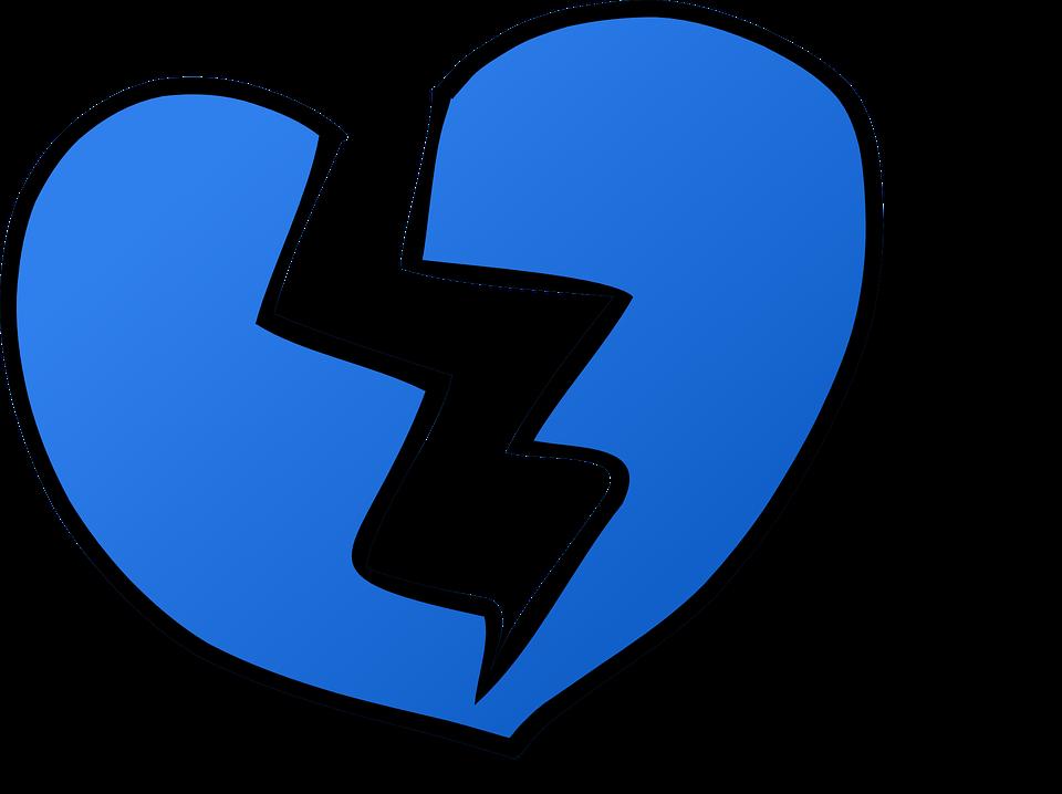 Heart Heartbreak Love Free Vector Graphic On Pixabay