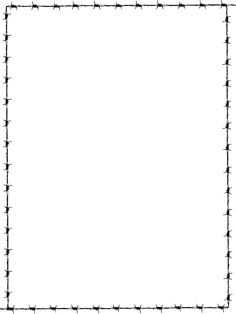 cadre fronti u00e8re page fil de fer  u00b7 images vectorielles