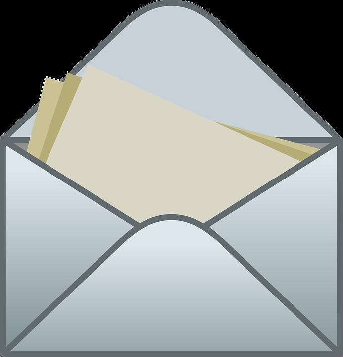 Koperta Mail List - Darmowa grafika wektorowa na Pixabay