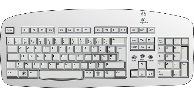 Free Vector Graphic: Keyboard, Electronics, Input