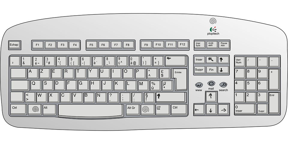 Free Vector Graphic  Keyboard  Electronics  Input - Free Image On Pixabay