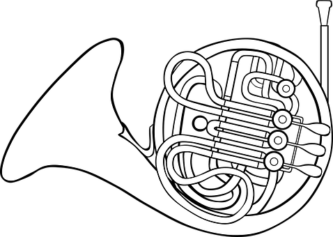 french vector graphics pixabay download free images Extreme Potato Gun Plans french horn musical instrument blow