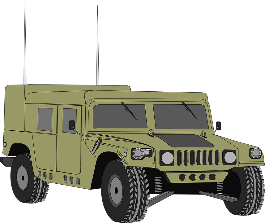Hummer Vehicle Humvee Free Vector Graphic On Pixabay