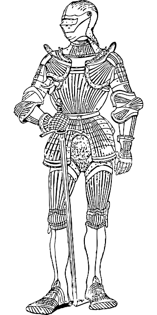 Soldier Armour Armor 183 Free Vector Graphic On Pixabay