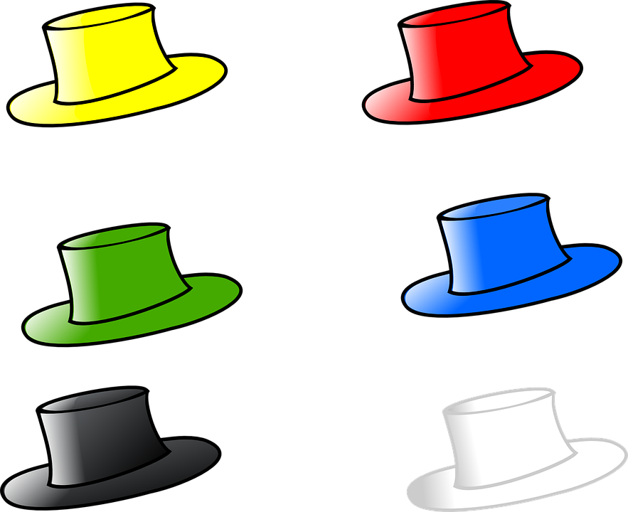 Hat Six Hats · Free vector graphic on Pixabay