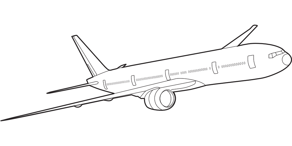 Airplane Jet Boeing Free Vector Graphic On Pixabay