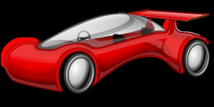 Car, Race Car, Futuristic, Vehicle