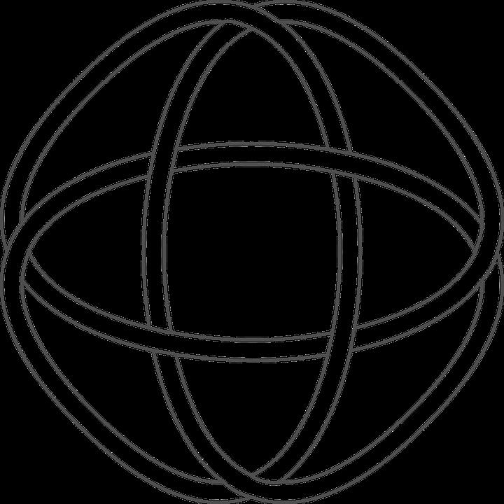 Celtic Moon Knotwork Ornament