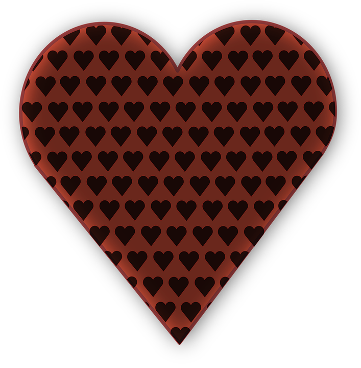 Hearts Brown Love Free Vector Graphic On Pixabay