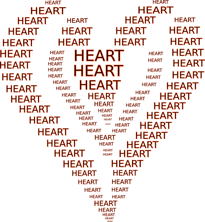 Heart Shapes Writings Free Vector Graphic On Pixabay