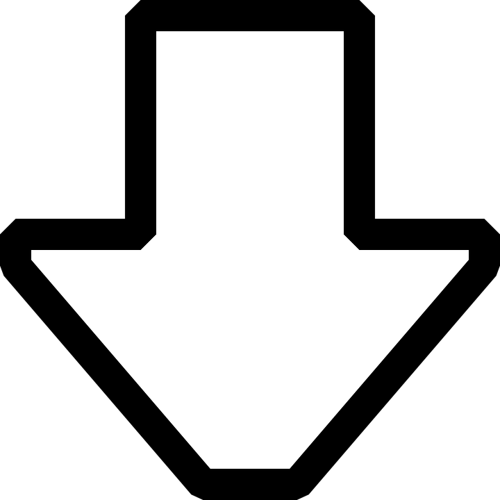 Arrow Down Symbol Free Vector Graphic On Pixabay