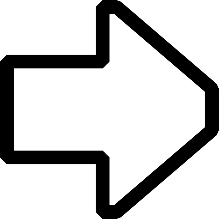 Arrow Pointing Right · Free vector graphic on Pixabay
