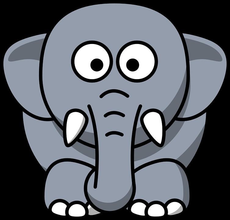 Elefant Tier Saugetier Kostenlose Vektorgrafik Auf Pixabay