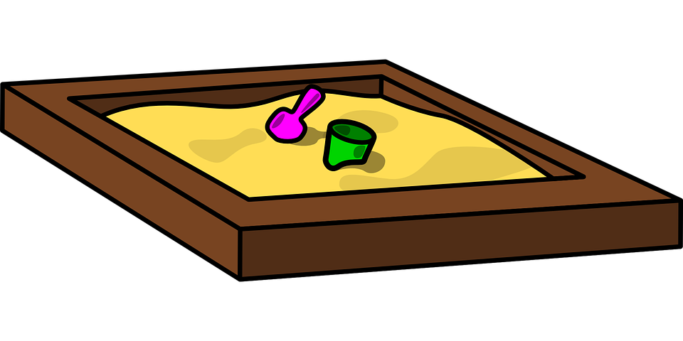 sandpit sandbox container free vector graphic on pixabay rh pixabay com