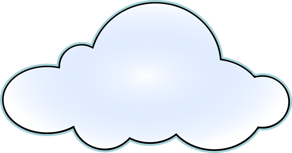 Nube Blanco Formas Nubes Clima 35567 on Printable Shape Coloring Pages
