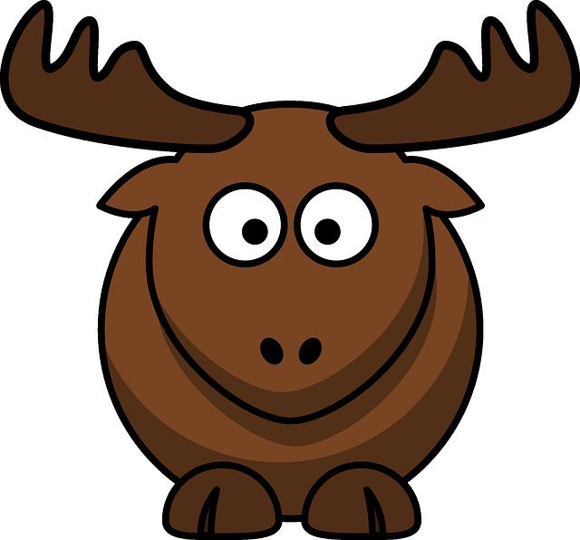 Elk Animal Brown · Free vector graphic on Pixabay