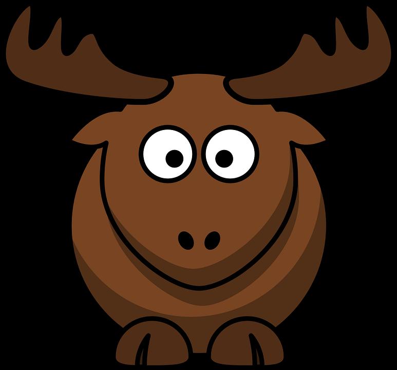 elk animal brown  u00b7 free vector graphic on pixabay