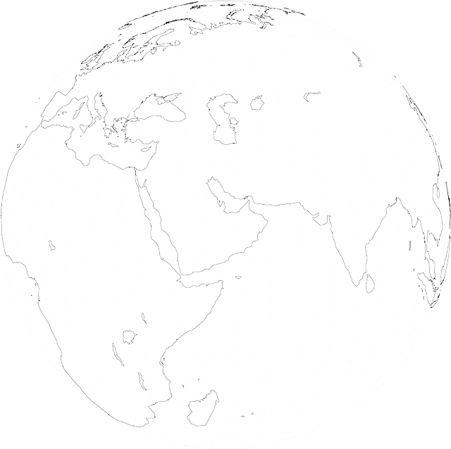 Globe world map free vector graphic on pixabay gumiabroncs Gallery