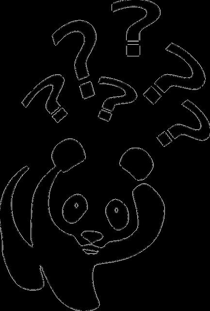 Beer Zwart Wit Panda 183 Gratis Vectorafbeelding Op Pixabay