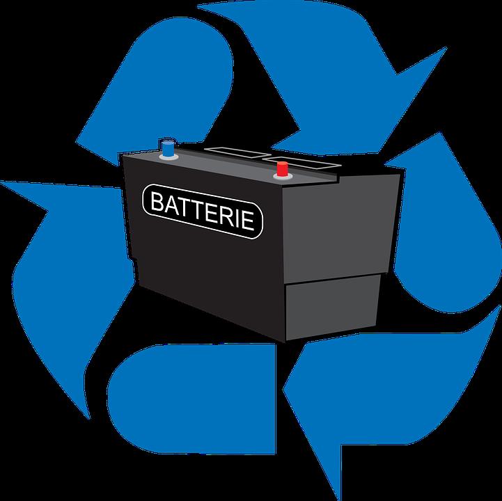 Batterie Elektro Recycelt · Kostenlose Vektorgrafik auf Pixabay
