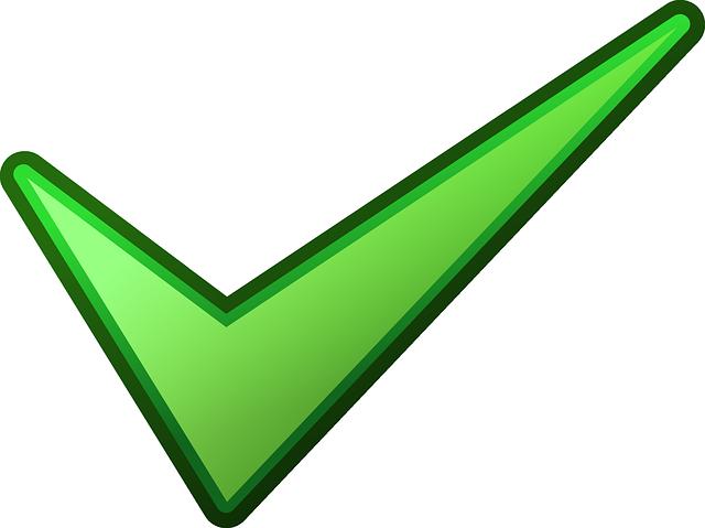 Mark Verde Tick · Gráficos vectoriales gratis en Pixabay