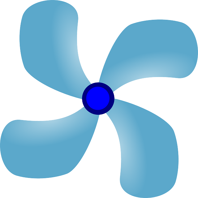 Propeller Clip Art : Propeller blades fan · free vector graphic on pixabay