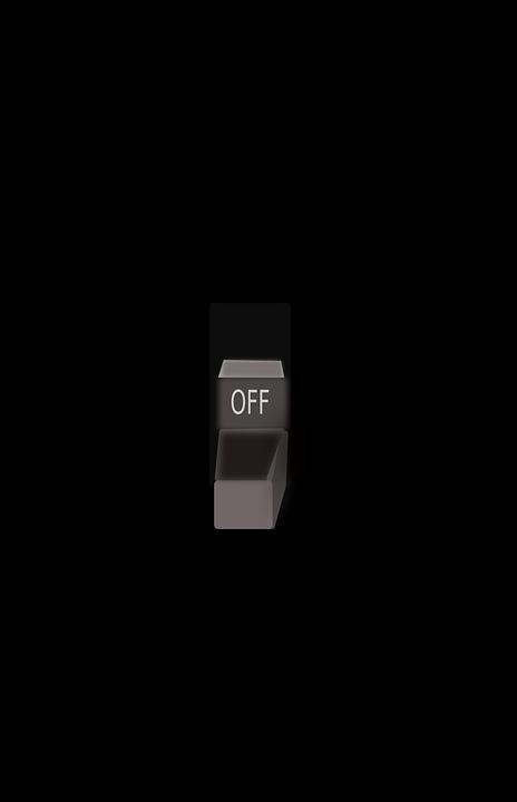 Switch Light Off  U00b7 Free Vector Graphic On Pixabay